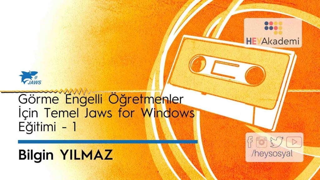 Jaws For Windows Eğitimi